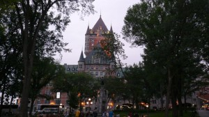 Chateau Frontenac Abends