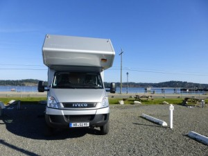 Thunderbird RV Park in Campbell River