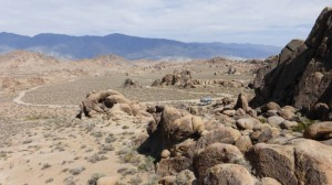 Stellplatz in den Alabama Hills