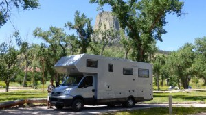 Devils Tower NP Campground 2