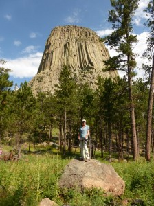 Trail am Devils Tower