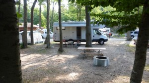 Pines Campground Site 77